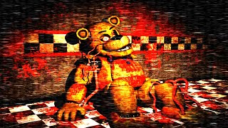 El GUARDIA DE SEGURIDAD Atrapado EN GOLDEN FREDDY ?! FNAF muy CREEPY | FNAF GOLDEN MEMORY