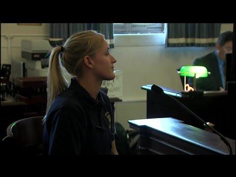Officer Kimberly Horning testifies in Ray Tensing retrial