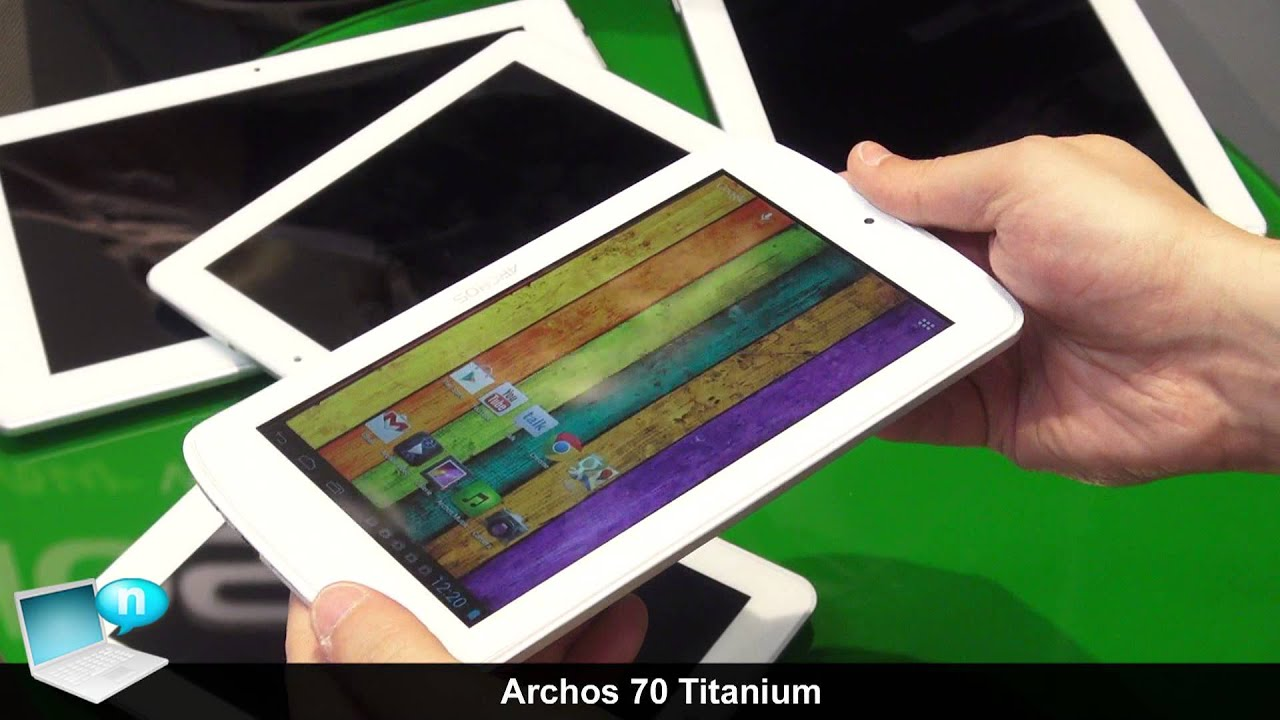 Drivers for ARCHOS 70 Titanium Tablet