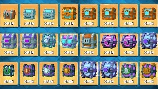 OPENING EVERY CHEST IN CLASH ROYALE! All Chest Opening & NEW DRAFT CHEST!
