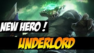 WELCOME PIT LORD, THE UNDERLORD - NEW HERO - Dota 2