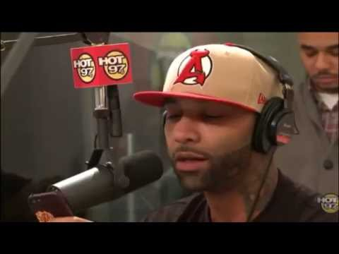 Joe Budden Freestyles Over Grindin Instrumental on HOT 97 2013