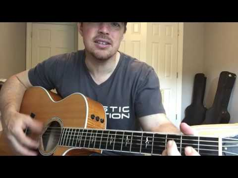 Chicken Fried | Zac Brown Band | Beginner Guitar Lesson | 3 Chord Country