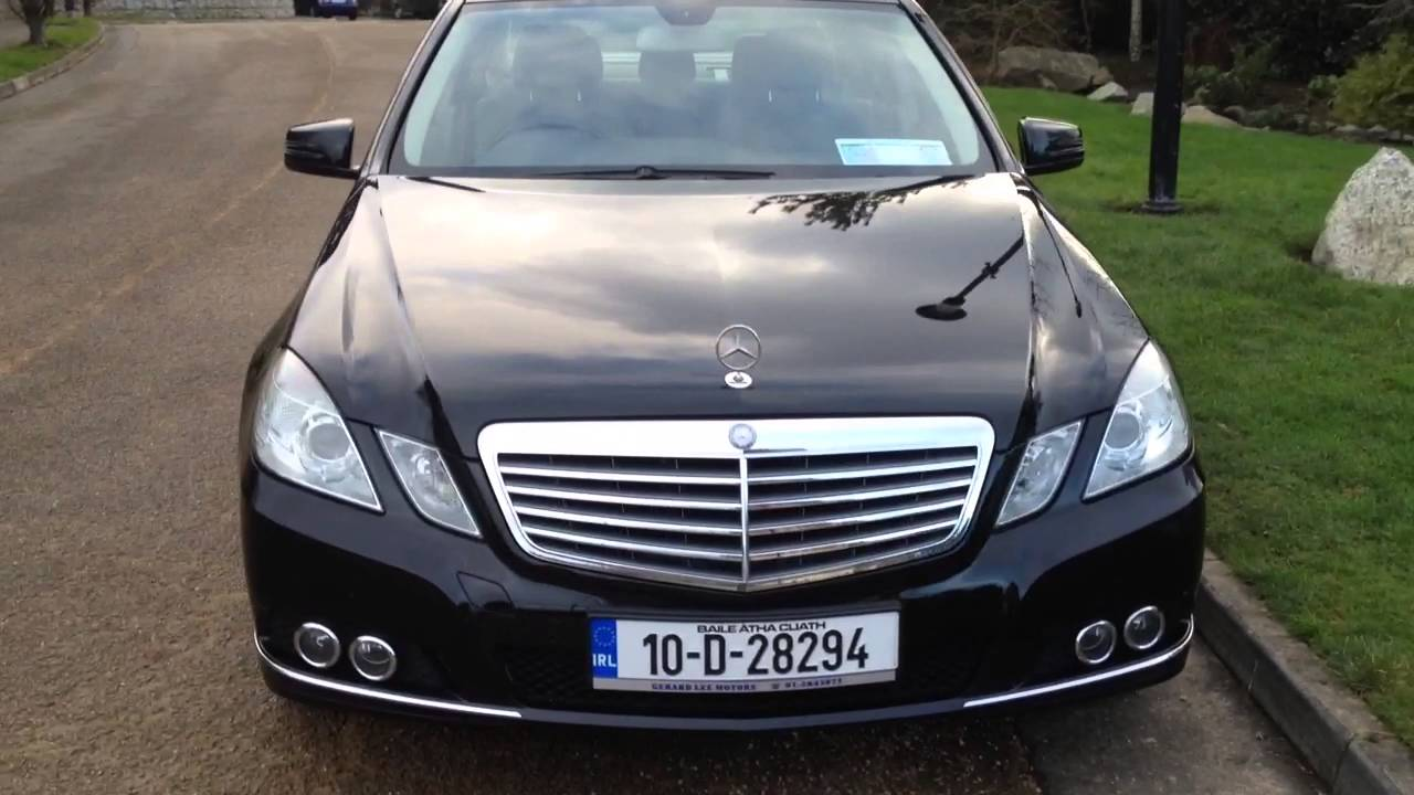 2010 mercedes e220 cdi elegance 2 1 youtube. Black Bedroom Furniture Sets. Home Design Ideas