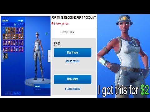 I Tried Getting RECON EXPERT Fortnite Account For $2 And This Happened..
