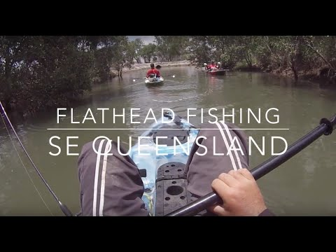 Flathead Fishing On Dragon Kayaks
