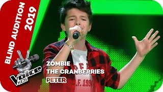The Cranberries - Zombie (Peter) | Blind Auditions | The Voice Kids 2019 | SAT.1