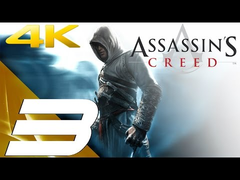 Assassin's Creed - Walkthrough Part 3 - Tamir Assassination & Jerusalem [4K 60FPS]