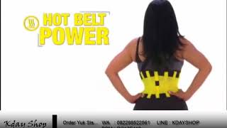 hot shapers power belt
