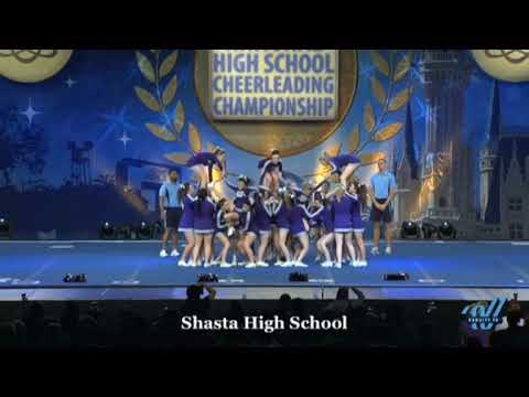 Shasta High school Cheerleading competition Florida 2014 UCA