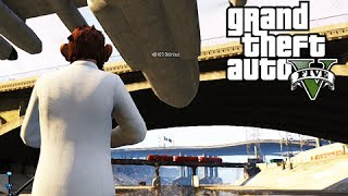 gta 5 online the cucumber bus suicide bridge and the titan stuntman tryouts