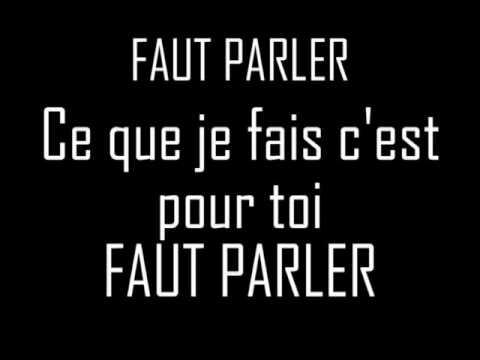 STELAIR - Faut Parler. Paroles/Lyrics
