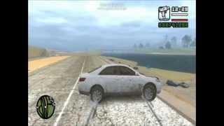GTA4 San Andreas Beta,3 Test implementation / Toyota Camry Drift Crash