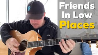 """Learn the intro and chords to """"friends in low places"""" by garth brooks using g am d. , please subscribe my other channel:, http://www./acousticselection, #countrysongteacher ..."""
