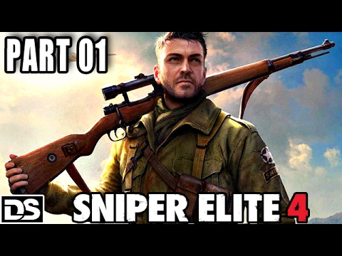 Sniper Elite 4 Gameplay German PS4 Part 1