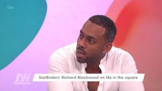 Richard Blackwood And Linda Robson Go Way Back | Loose Women