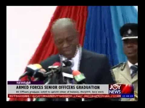Armed Forces Senior Officers Graduation