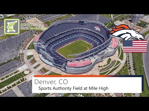 Denver, CO - Sports Authority Field at Mile High / 2015