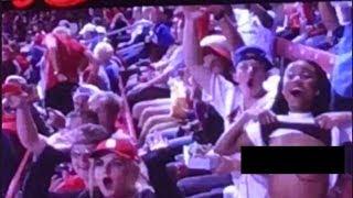 Video Cardinals Fan FLASHES Jumbotron Camera download MP3, 3GP, MP4, WEBM, AVI, FLV November 2017