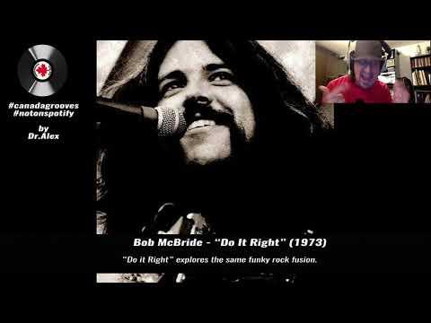 """[DR.ALEX] Bob McBride - """"Do It Right"""" (1973)"""
