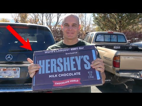 5 Pound Hershey's Chocolate Bar!!