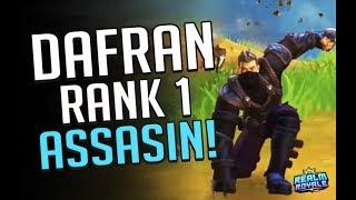 Dafran - Rank 1 assassin in Realm Royale