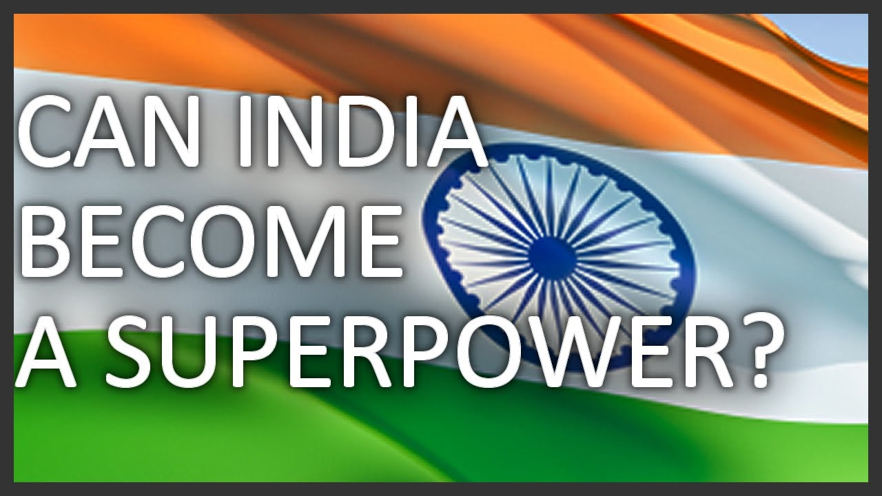 will india become a superpower Endowed with more than 300 days of sunshine a year, the world bank said, india is making strides towards becoming a global solar superpower.