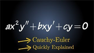 Cauchy Euler Differential Equation (equidimensional equation) thumbnail
