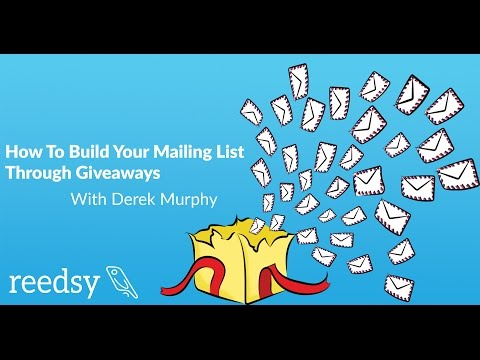 How to Build Your Author Mailing List With Giveaways