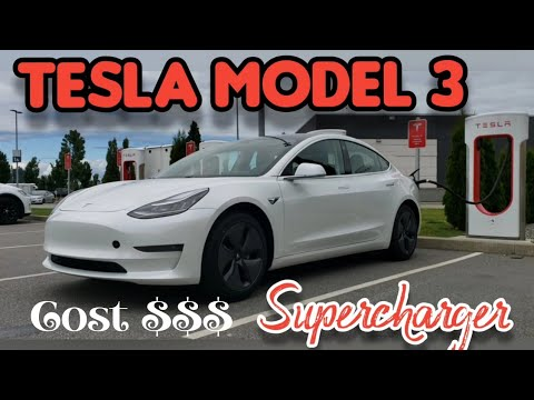 TESLA MODEL 3 // HOW MUCH DOES IT COST TO USE TESLA ...