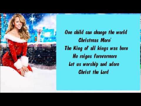 Mariah Carey - One Child + Lyrics