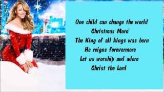 Mariah Carey - One Child + Lyrics