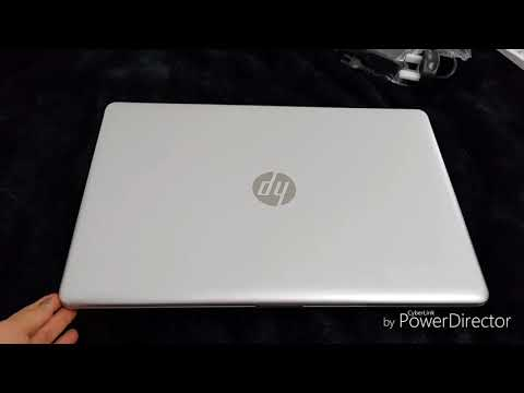 Unboxing hp i7 laptop 2018.