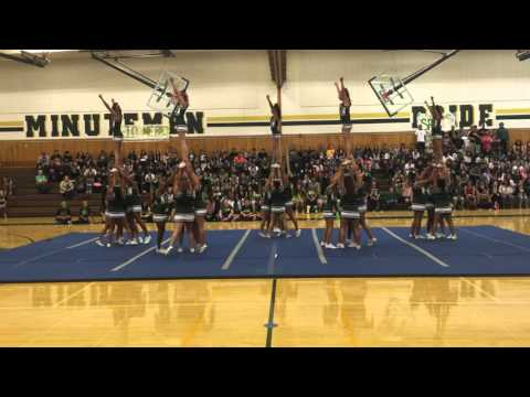 Concord High School Cheer 2015