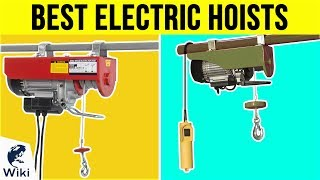 8 Best Electric Hoists 2019
