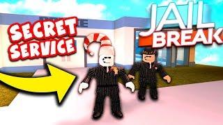 SECRET SERVICE MISSION (Roblox Jailbreak Roleplay)