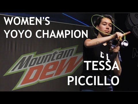 Tessa Piccillo - Women's Division - 1st Place - World Yoyo Contest 2017