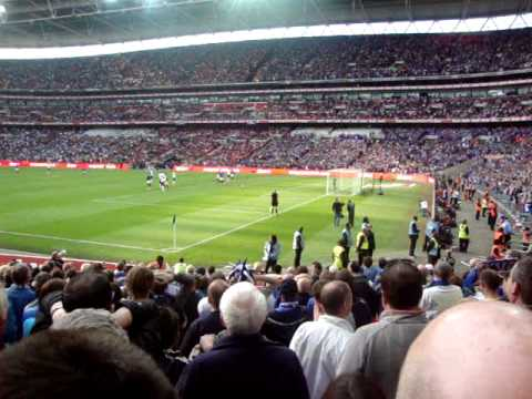Boateng Penalty, Pompey Vs Spurs, FA Cup Semi Final, 11/04/2010