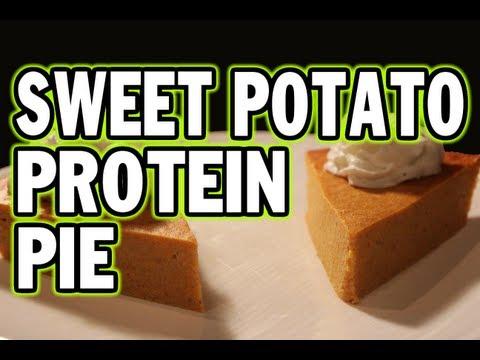 Bodybuilding Sweet Potato Protein Pie (Easy to Make)
