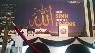 Ahde Shikni Na Karo - Nazam - National Ijtema Germany MKAD 2016 - Hanan Bajwa