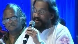 "K J Yesudas sings ""Chandrikayil Aliyunnu Chandrakaantham.. "" -Chitrapournami"