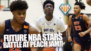 James Wiseman vs Scottie Barnes & Vernon Carey!!   FUTURE NBA STARS Battle At Nike Peach Jam