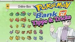TIPPS & TRICKS ZU POKÉMON BANK