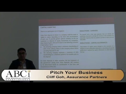 ABCI Featured Speaker: Cliff Goh - Assurance Partners LLP
