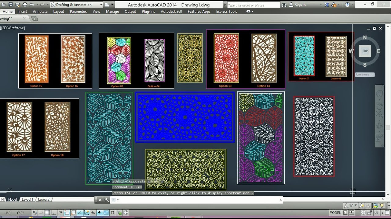 AutoCad Tracing PhotoGraphi CNC Machine Wooden Design Free Download [Autoc  ad tips & tricks]
