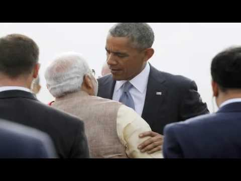 US India Relations no Threat to China Says Obama - TOI