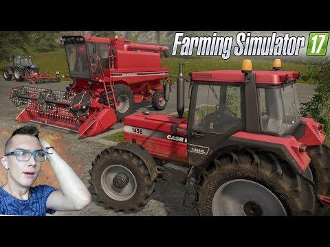 Farming Simulator 17 ☆ Pierwsze wrażenia, gra w kosza, urwany znak i zlecenie ㋡ MafiaSolec