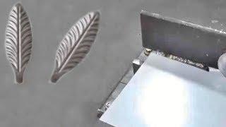 Как сделать штампованный лепесток своими руками за 5 минут.Кованые элементы своими руками