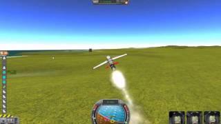 First! Kerbal Space Program Rocket Plane