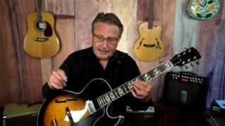 Gibson Herb Ellis ES-165 with Rich Severson